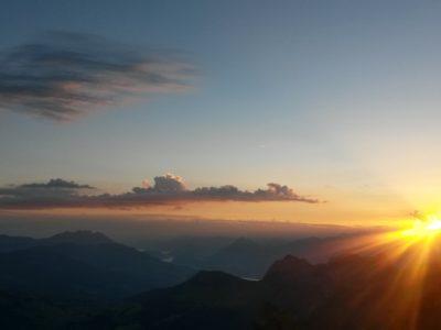 Sonnenaufgang Brienzer Rothorn
